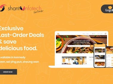 GogoEat:Food Ordering Website & Apps