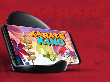 GAME DEVELOPMENT ( KARATE KING )