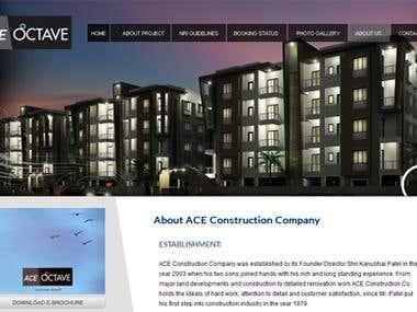 Website Development:- www.aceoctave.com