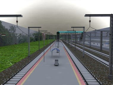 Smart Railway Platform Design
