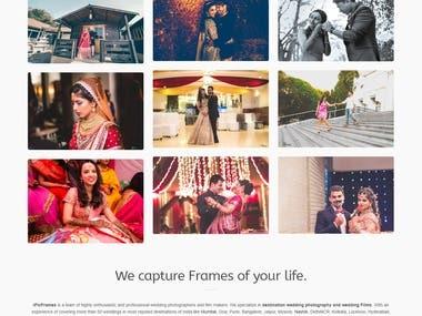IPICFRAMES - A photographer portfolio