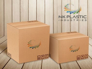 nk-plastics-logo-design