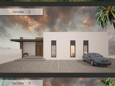 Freelancer Contest Winner: Design A Farm House