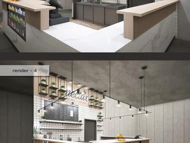 Freelancer Contest Winner: Juice Bar Concept Design