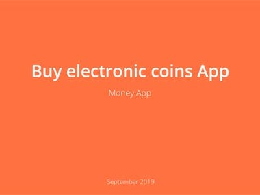 UX UI for Exchange money app