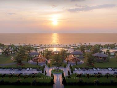 Renderings of Resort