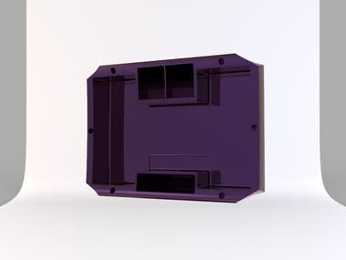Design a electric skateboard battery enclosure