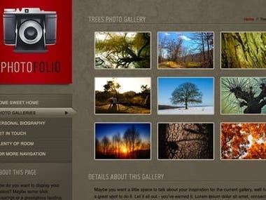 gallery website