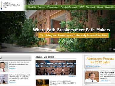 IMT Nagpur Website