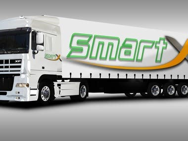 Logo for transport company