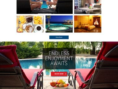 Travelodge Hotel Website Design