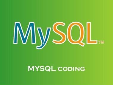 MySQL coding