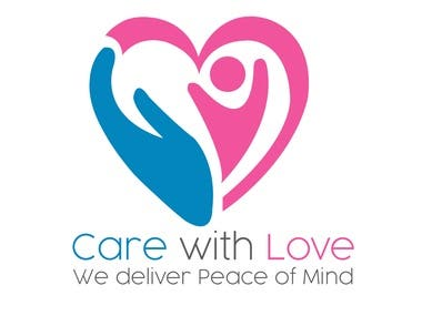 Logo for Care with Love