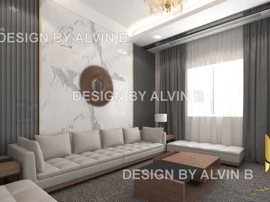 Luxury Villa Modern Interior