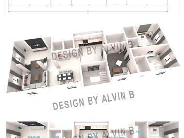 2D to 3D Floor Plan