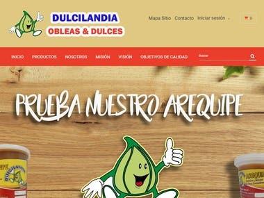 Tienda virtual www.dulcilandia.com.co