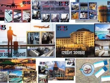 Advertisement Designs of BHB