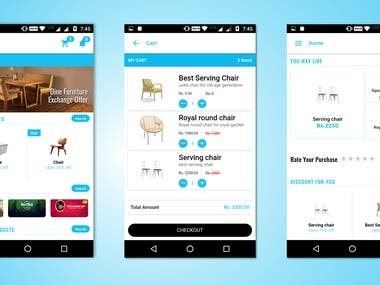 E Commerce Mobile App For Android And IOS