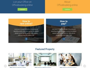 Office Booking Multi Vendor E Commerce Website In PHP