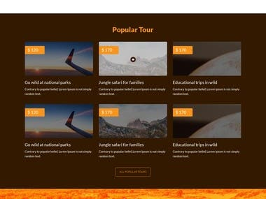 Tours And Travels Woo Commerce website In Word Press