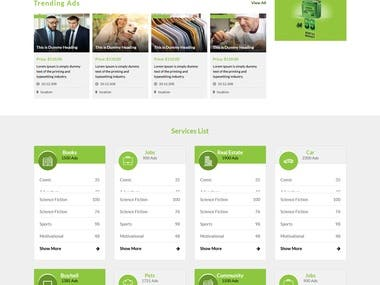 Classified Website In PHP