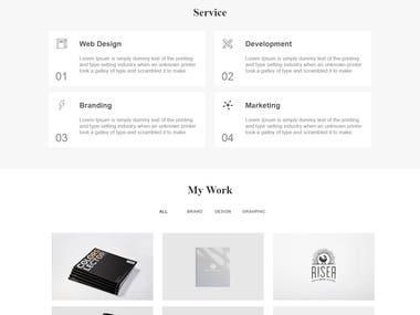 Developer's portfolio