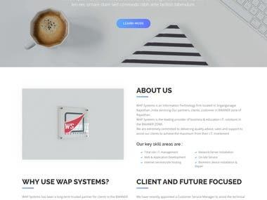 WAP system