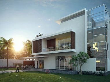 EXTERIOR DESIGNING BY THE DEVELOPERS