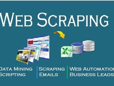Bots, Scraping, data...