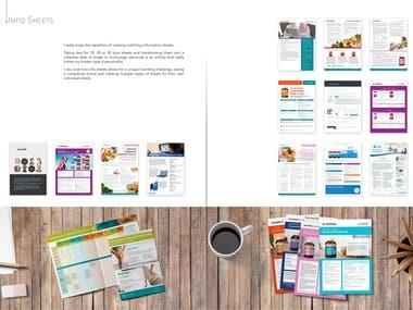 Fact Sheets, Information sheet design