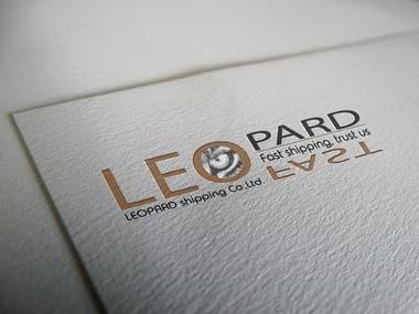 Logo leopard shipping