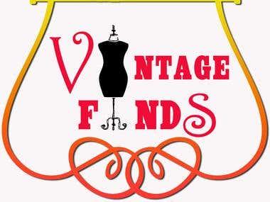 Vintage Find tag