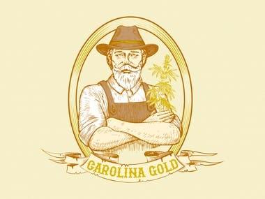 hemp logo design