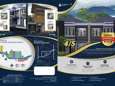 Design Flyer PT. Djagad Land