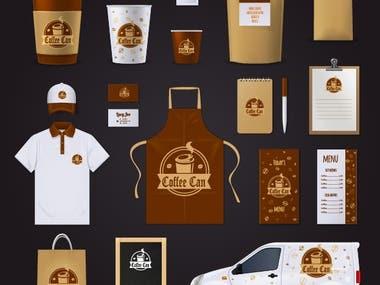 coffe shop branding