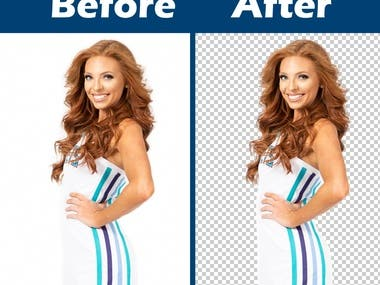 Advance Photoshop masking