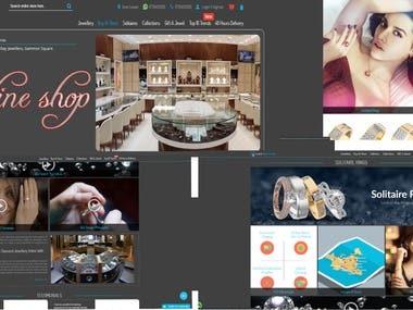 Online Shop(https://www.ilovediamonds.com)