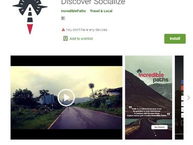 Incredible Paths: Explore Dream Discover Socialize