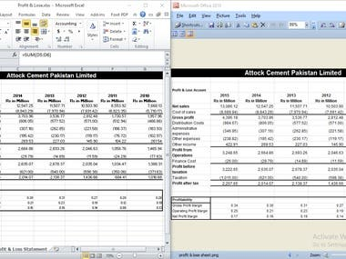 Conversion of Image Data in Excel File