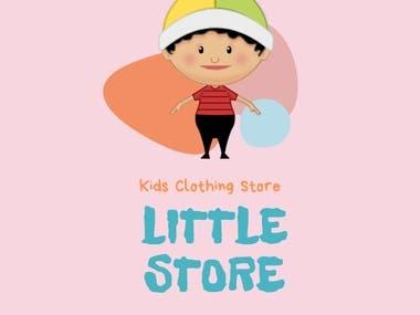 Kids Clothing Store Logo