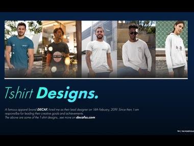 Several Tshirt Designs