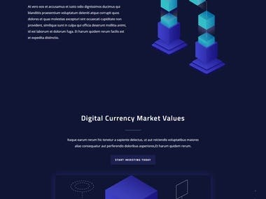 Cryptocurrency Consulting website