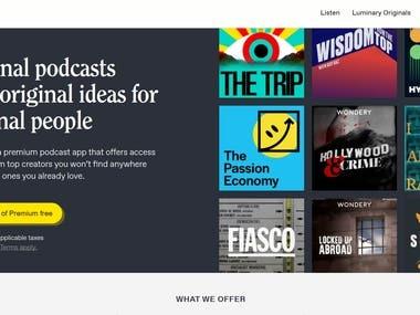 http://luminarypodcasts.com | http://cms.luminarypodcasts