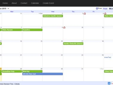 Google calendar event management(google calendar api C#)