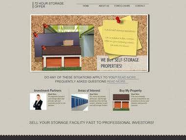 72 Hour Storage Offer Website