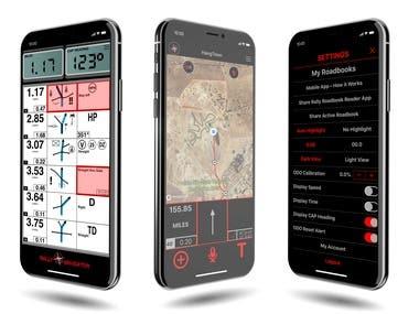 Roadbook Navigator App
