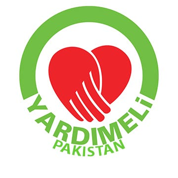 Yardimeli Pakistan Website Cover and Logo design