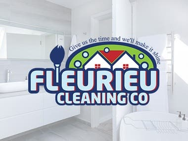 Cleaning Logo Design