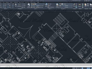 Autodesk Revit Modelling and creating 2D Maps