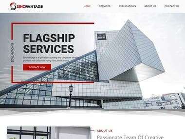 Website for a Consultancy Firm